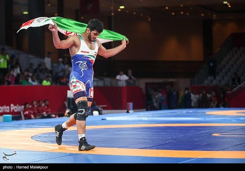 Iran's Yazdani Wins Bronze Medal at Wrestling World C'ships