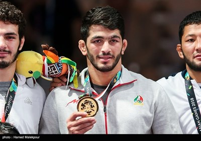 کسب اولین مدال طلای ایران در بازیهای آسیایی 2018 توسط حسن یزدانی