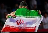 کسب مدال طلا توسط علیرضا کریمی در مسابقات کشتی آزاد - بازیهای آسیایی 2018