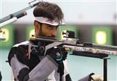تیراندازی قهرمانی جهان| نکونام مدال طلای تفنگ سه وضعیت را بر گردن آویخت