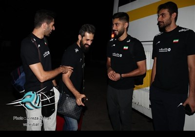 Iran Volleyball Team Arrives in Tokyo for FIVB World Cup - Sports news