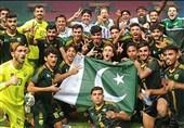 ایشین گیمز میں پاکستان فٹبال ٹیم کی 44 سال بعد پہلی کامیابی