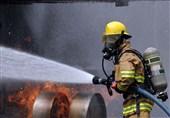 آتش گرفتن چند اتوبوس در گاراژ نگهداری خودرو