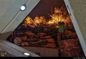 """رونمایی حزب الله از موشک """"خیبر 1"""" در موزه ملیتا+عکسوفیلم"""