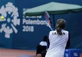 چراغی: میترسیدم در فینال مسابقات تنیس شکست بخورم