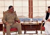 وزیراعظم عمران خان سے چیئرمین جوائنٹ چیفس جنرل زبیر کی ملاقات