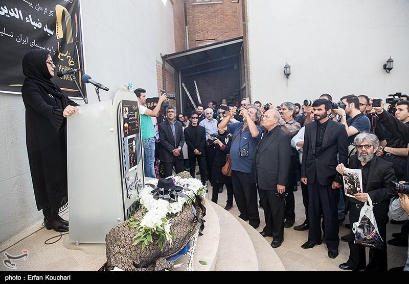 تشییع پیکر مرحوم ضیاء الدین دری