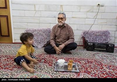 حاج حسین خسرو خاور جانباز هفتاد درصد