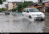 بارش باران همراه با رعد و برق در 6 استان کشور
