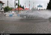 آخرین وضعیت بارشهای ایران/رشد قابل توجه بارشها در جنوب و شمال شرق کشور+جدول