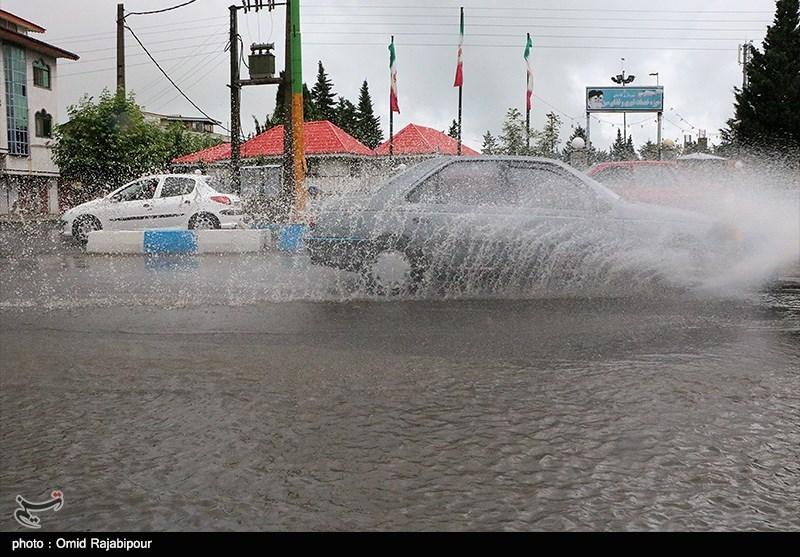 آخرین وضعیت بارشهای ایران/رشد قابلتوجه بارشها در جنوب و شمال شرق کشور+جدول