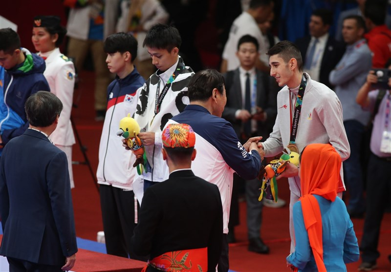 Farzan Ashourzadeh Wins Bronze at Asian Games