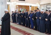 Syria President Celebrates Eid Al-Adha at Damascus Mosque
