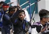 مسابقات جهانی تیراندازی| پایان کار 2 ملیپوش کشورمان در تفنگ 50 متر سه وضعیت آقایان