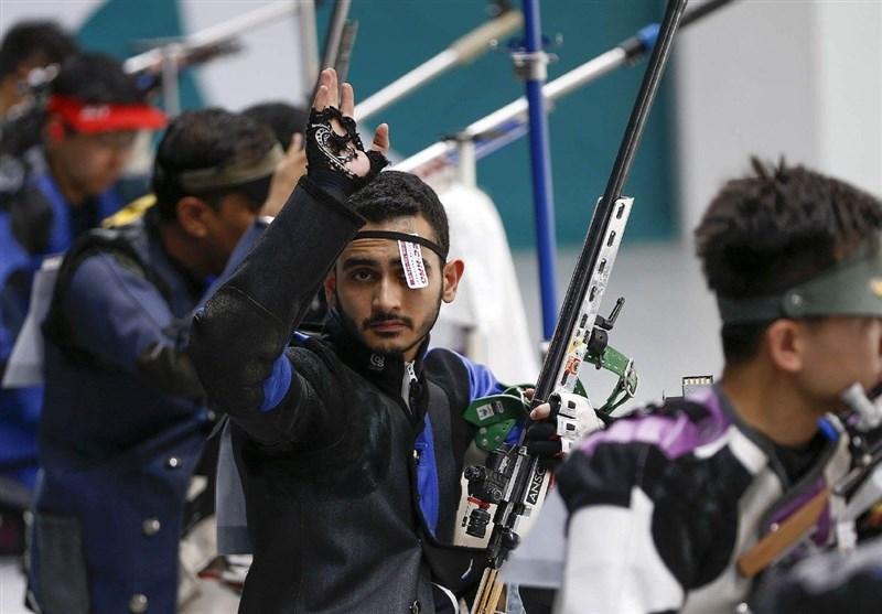 تیراندازی قهرمانی آسیا|مهیار صداقت سهمیه المپیک 2020 را گرفت