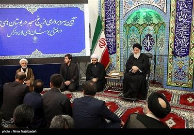 مراسم افتتاح مساجد بوستانهای مشهد