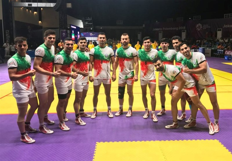 Asian Games: Iran Men's Kabaddi Emerges Victorious over Nepal, Indonesia