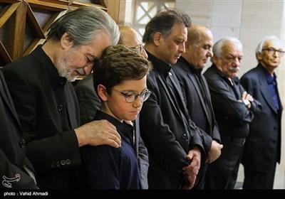 مراسم ختم مرحوم عزت الله انتظامی