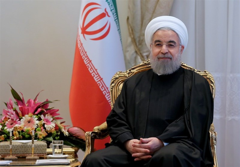 روحانی یهنئ زعماء العالم الاسلامی بعید الأضحى المبارک
