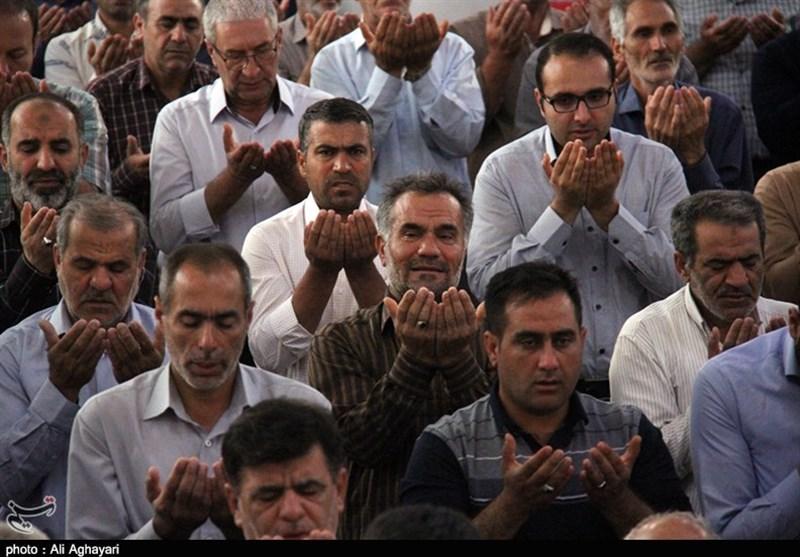 نماز عید قربان در ایلام به روایت تصویر