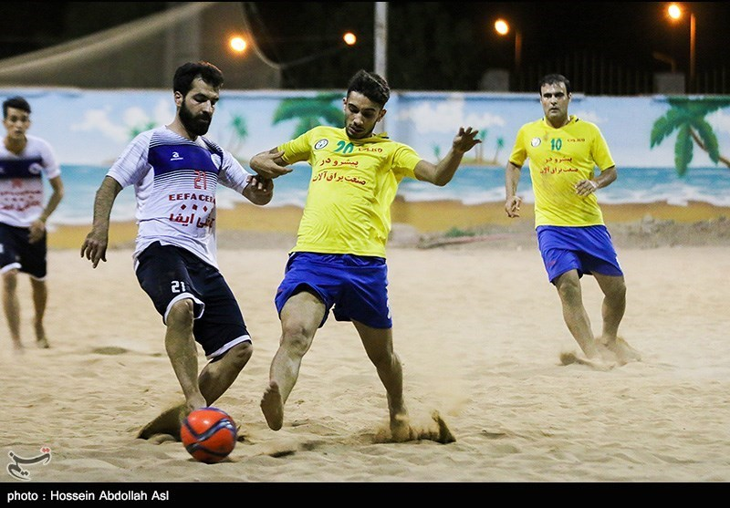 یزد| ایفای اردکان رقابتهای لیگ برتر فوتبال ساحلی کشور را با بُرد آغاز کرد