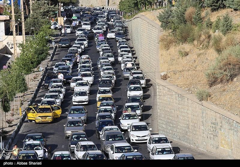 محورهای شریانی مازندران شاهد ترافیک نیمهسنگین است