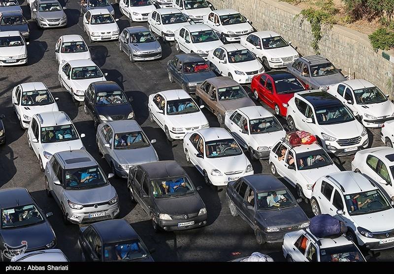 کرج | ترافیک سنگین در آزادراه کرج- تهران از پل فردیس تا پل کلاک