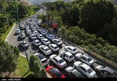 ترافیک سنگین در برخی محورهای استان ایلام و خوزستان/ پیشبینی لغزنده شدن جادهها در استانهای غربی