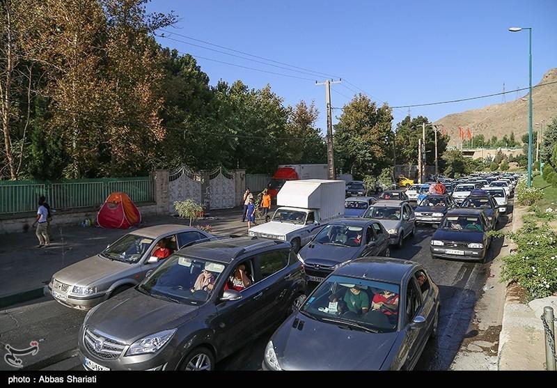 ترافیک سنگین در جاده چالوس و هراز/ افزایش 7.6 درصدی تردد در جادههای کشور
