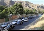 افزایش تردد وسایل نقلیه در جادههای کشور