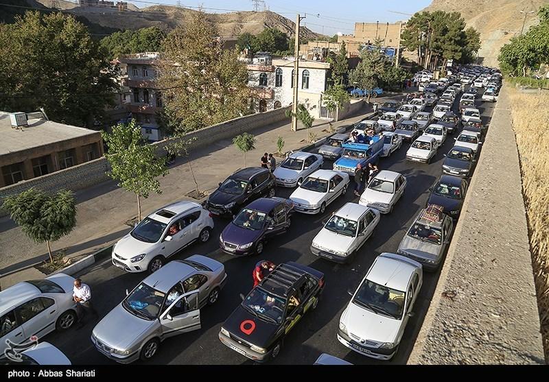 کاهش 17.6 درصدی تردد در جادههای کشور/ترافیک سنگین در محور چالوس