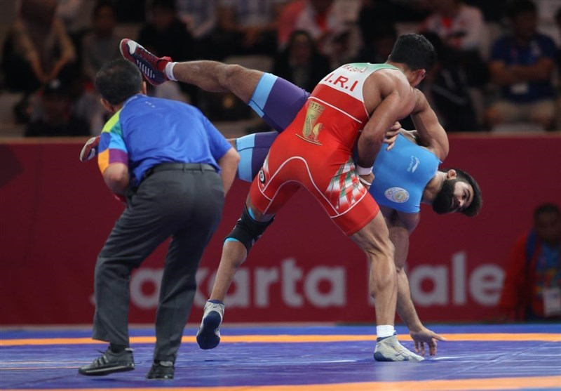Iran Claims Four More Medals in Ukraine Wrestling Event