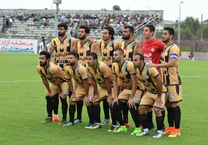 دومین برد قشقایی فوتبال خراسان را سیاه پوش کرد
