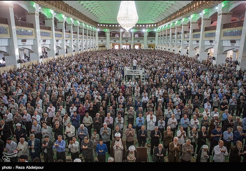 نماز عید قربان در استان چهارمحال و بختیاری اقامه شد