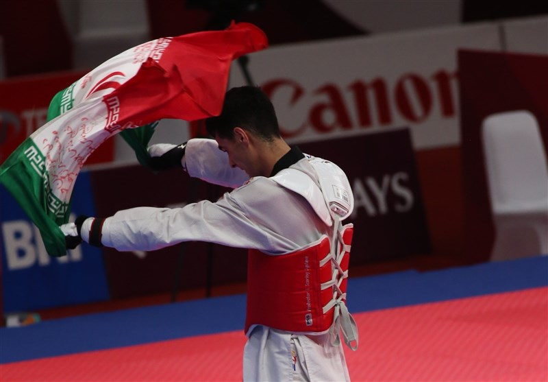 Taekwondo Athlete Hosseini Snatches another Gold Medal for Iran (+Video)