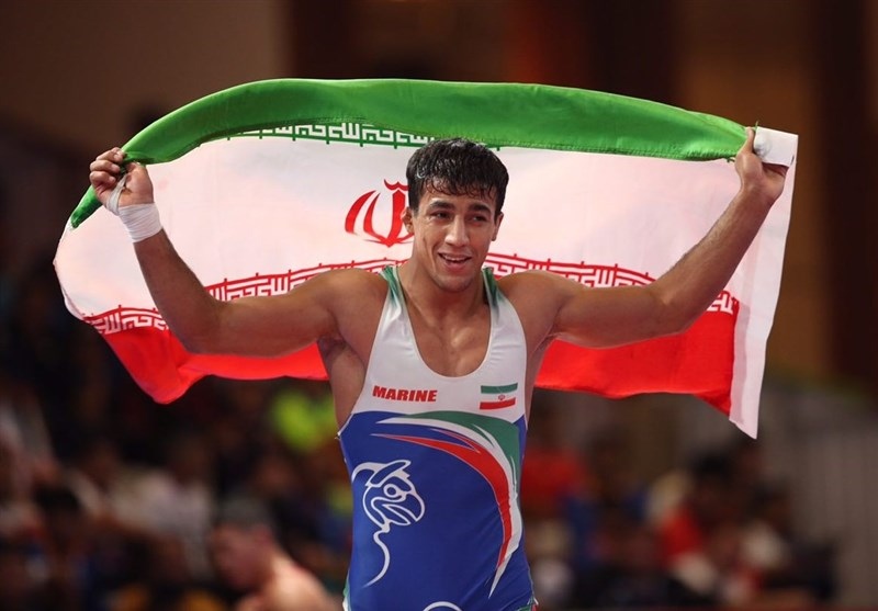 Iran Wins Two Gold Medals in Greco-Roman: Asian Games
