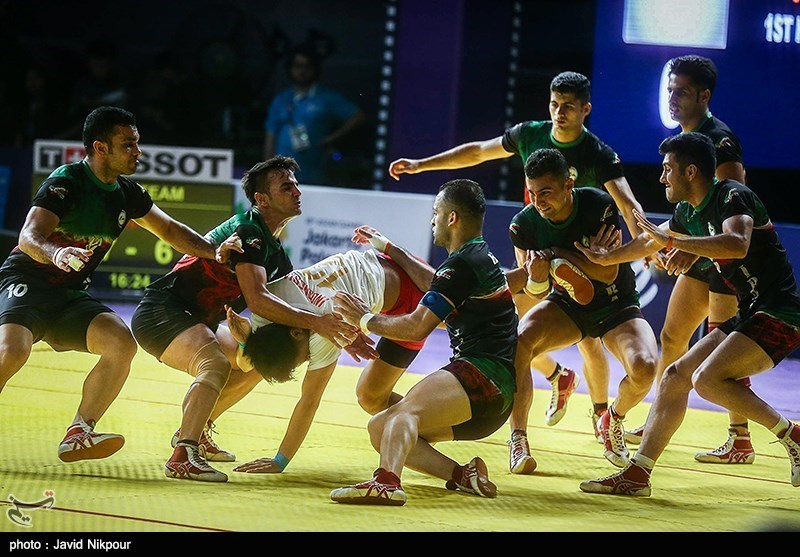 Iranian Kabaddi Teams into Asian Games Final