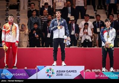 فینال مسابقات کشتی فرنگی - بازیهای آسیایی 2018