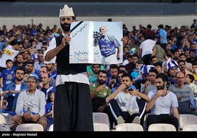 دیدار تیم های فوتبال استقلال و فولاد