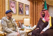 آرمی چیف سے سعودی ولی عہد کی ملاقات، علاقائی سلامتی کے امور پر تبادلہ خیال