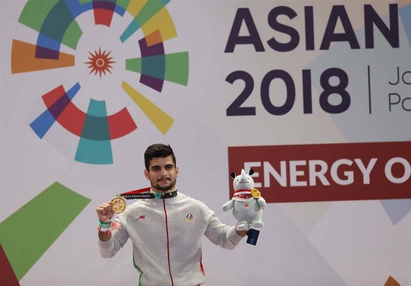 Wushu Practitioner Ahangarian Wins Iran's Eighth Gold at Asian Games
