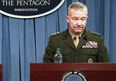 فرمانده تروریستهای سنتکام: سیاست فشار حداکثری علیه ایران مؤلفه نظامی ندارد