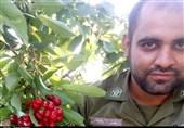تشییع پیکر سرباز شهید ناجا در خمین به روایت تصویر