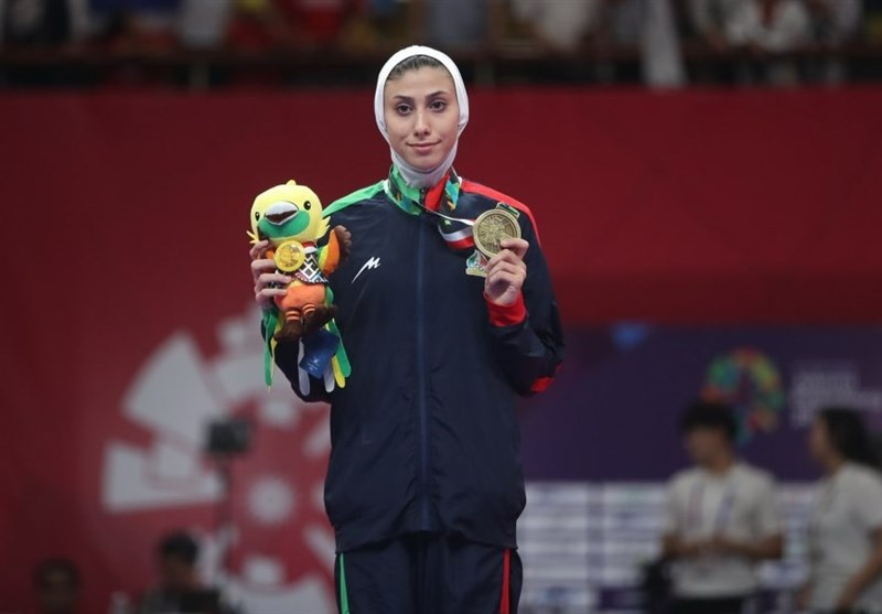 Iran's Taekwondo Athlete Nahid Kiani Claims Bronze