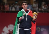 Iranian Taekwondo Athlete Bakhshi Seizes Silver: Asian Games