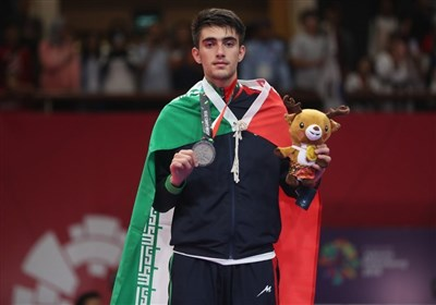 بخشی: میخواهم در کسب مدال طلای قهرمانی آسیا دبل کنم/ افق دیدم سهمیه المپیک ۲۰۲۴ است