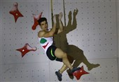 Asian Games: Climber Reza Alipour Wins Iran's 10th Gold Medal