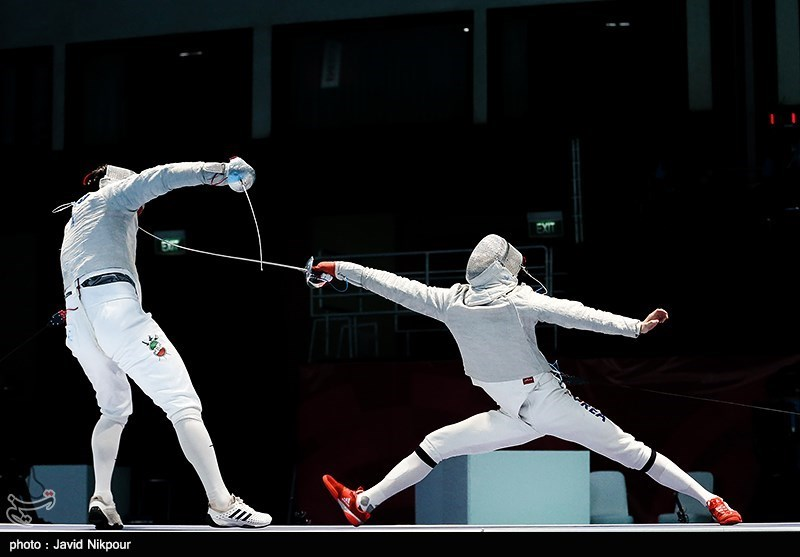 Iran's Team Sabre Takes Silver in Asian Games