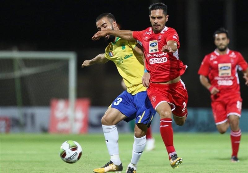 جدول لیگ برتر فوتبال در پایان روز دوم از هفته پنجم؛ پرسپولیس با تفاضل گل به صدر برگشت
