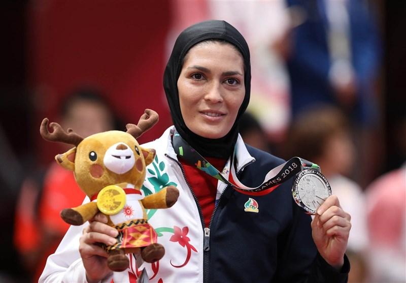 الهه منصوریان از کسب مدال نقره به جای طلا میگوید
